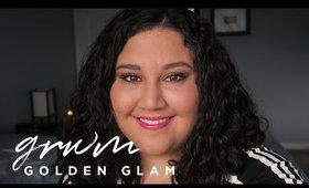 GRWM: Golden Glam | Meagan Aguayo