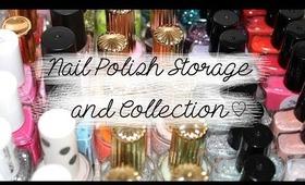 Nail Polish Storage And Collection   Kirakiranail