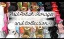 Nail Polish Storage And Collection | Kirakiranail