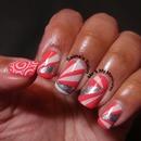 Grapefruit Stripes
