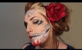 Shattered Sugar Skull