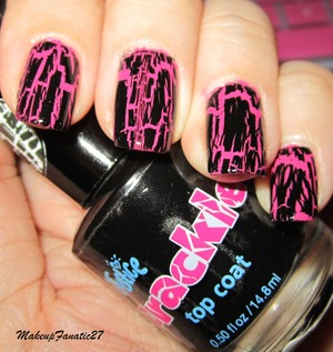 Revlon Scented in Bubble Gum and Creckle in Black