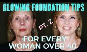 Youthful & Glowing Foundation Application For Mature Women | mathias4makeup