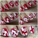 TUTORIAL - QR code nails.