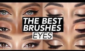 BEST EYE BRUSHES YOU WILL USE!!! | Hindash