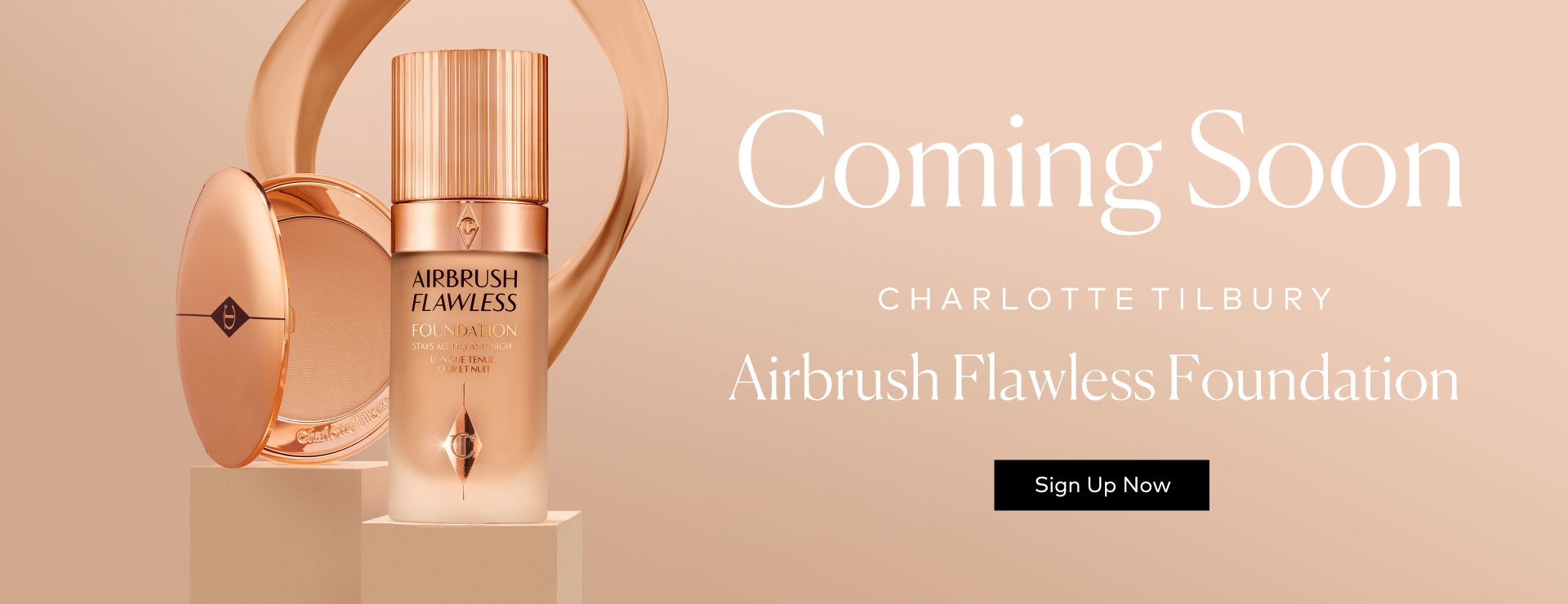 Charlotte Tilbury's Airbrush Flawless Foundation – Sign Up for Notifications