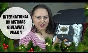 INTERNATIONAL CHRISTMAS GIVEAWAY WEEK 4