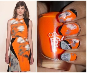 Blog post: http://www.bellezzabee.com/2014/02/nyfw-peter-som-fall-2014-inspired-nail.html