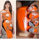 Graphic Orange: Inspired by Peter Som NYFW Fall 2014