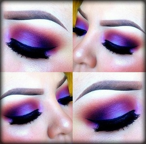 I ran across this picture on Pinterest...this purple is SOOOO beautiful.