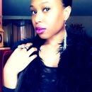 Black Fur & Purple Lips