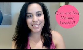 Quick & Easy Natural Makeup Tutorial