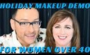 Holiday Makeup Skincare Must Haves for Mature Women - mathias4makeup