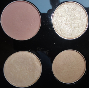 Pinkish Neutral Makeup of the Day  Eye Shadows Used from Top to Bottom and Left to Right- MAC- Haux, Shroom MAC- Era, Grain
