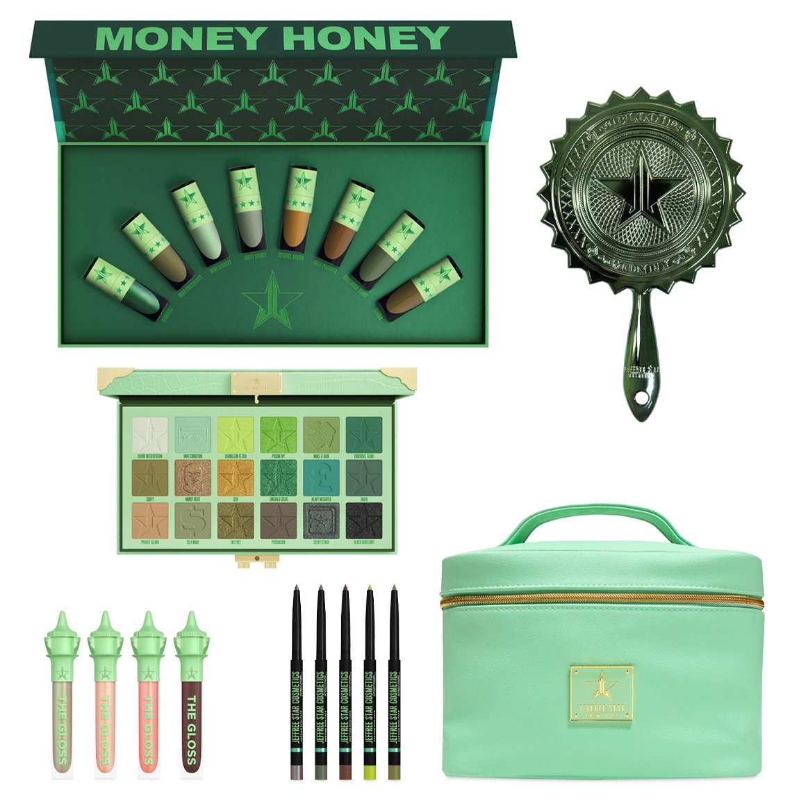Jeffree Star Cosmetics Blood Money Collection alternative view 1 - product swatch.