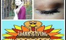 Thanksgiving Makeup, Hair & Outfit Idea!
