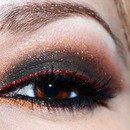 Pop of red liner