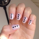 Dotted Pastel Nail Art