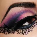 Pink Lace Eye