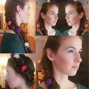 A look I created today for an editorial photo shoot! Super cute and fresh!