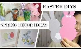 Easy Spring Home Decor DIYs | Easter Party Ideas
