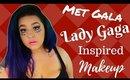 Met Gala Lady Gaga Inspired Makeup Tutorial (NoBlandMakeup)