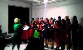 "The New York City Burlesque Choir ""Jingle Bell Rock"" (12.19.11)"