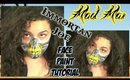 Mad Max: Immortan Joe Face Paint Tutorial (NoBlandMakeup)