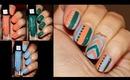 Julep Maven Box March 2014, Swatches + Geometric Nail Design