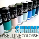 NEW REVIEW Maybelline Color Show Summer Collection 2013