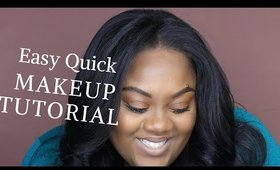Easy Stay At Home Makeup