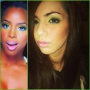 KELLY ROWLAND KISSES DOWN LOW INSPIRED RECREATION MAKEUP