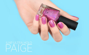 Paige is a stunning berry shade of pink that will quickly catch everyone's eyes with its super intense holographic sparkle! Paige is perfectly formulated to be a dream to apply and turn heads! - www.ILNP.com