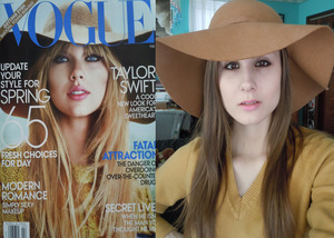 Taylor Swift Vogue Cover Look