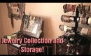 Jewelry Collection & Storage + Mini Room Tour