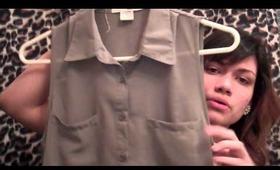 Super Mini Haul (Clothing & Essentials)