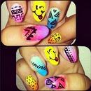 Coachella Fest Nails !
