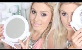 No Mirror Makeup Challenge! ♡ Shaaanxo