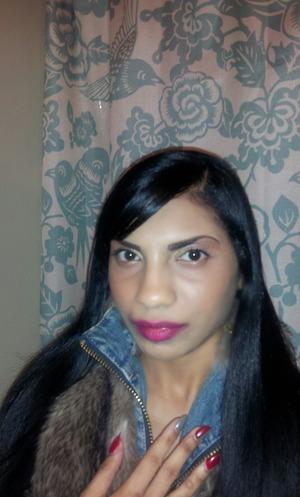 Mac riri blush duo, riri pleasure bomb lipstick, rose gold eyeshadow