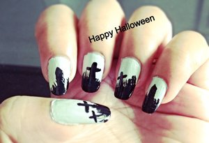 See the Tutorial @ http://www.youtube.com/watch?v=rlJO79eyIbk Visit http://www.gorgeousnailschannel.com/2013/10/halloween-nail-art-2013.html  Follow me on :-  YouTube : https://www.youtube.com/user/SuperGorgeousnails  Blog : http://www.gorgeousnailschannel.com  Facebook : https://www.facebook.com/SuperGorgeousNails  Twitter : https://twitter.com/DemiNails123  Pinterest: http://www.pinterest.com/deminails123/