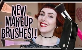 So Many New Brushes!! BCC 'Dimension Series' Makeup Brushes | LetzMakeup