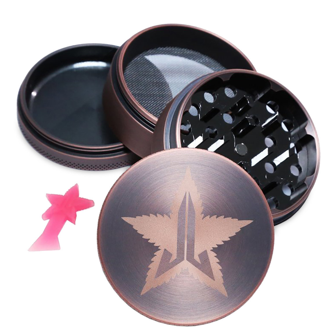Jeffree Star Cosmetics 63mm Grinder Bronze alternative view 1 - product swatch.