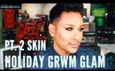 How to Get Glowing Skin for the Holidays | GRWM | mathias4makeup