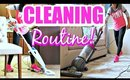 CLEANING ROUTINE!