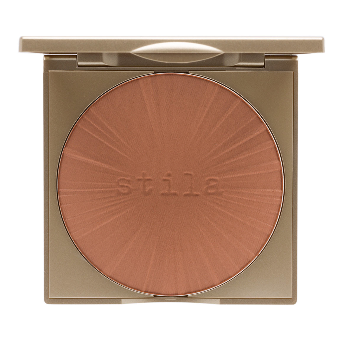 Stila Stay All Day Bronzer For Face & Body Dark product smear.