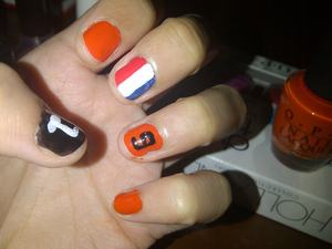 hup Holland hup! happy Koninginnedag, everyone!