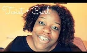 Natural Hair | Twist and Curl !