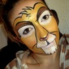 Lion King Inspired Face Painting