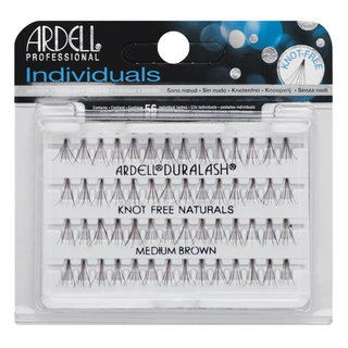 Individuals Knot-Free Natural Lashes Medium Brown