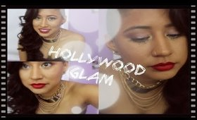 Hollywood Glam | Makeup,Hair & Outfit